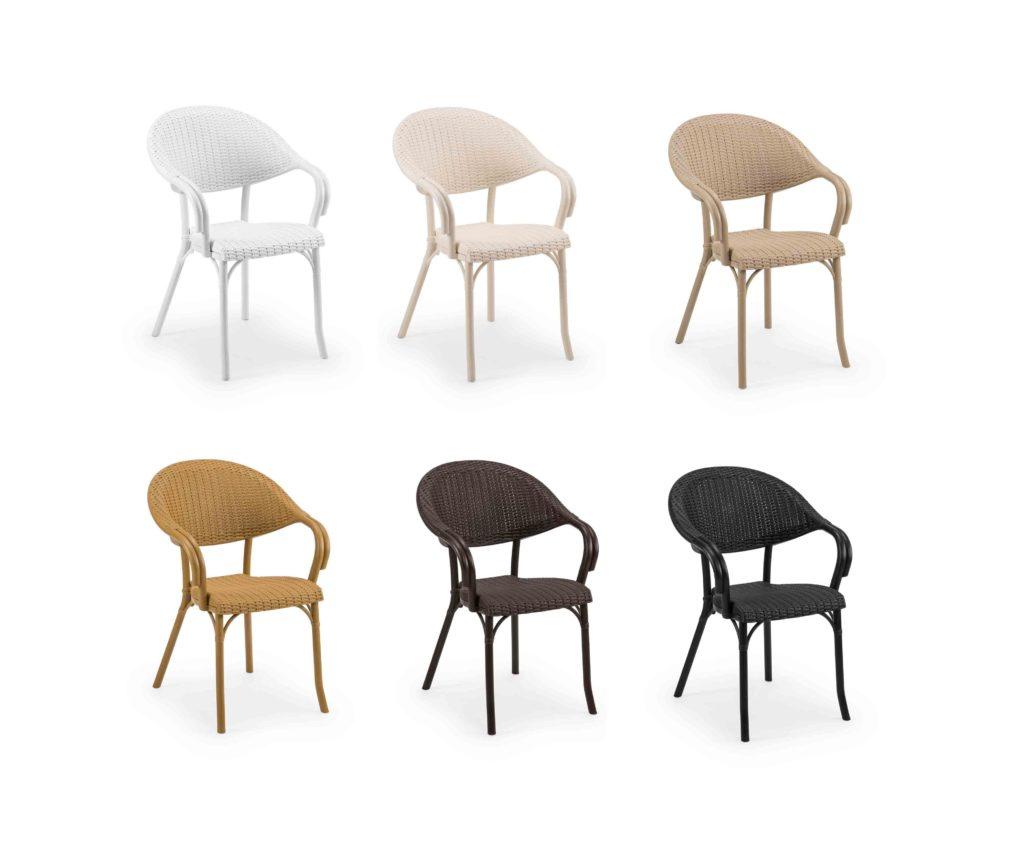 scaun cu impletitura din rachita