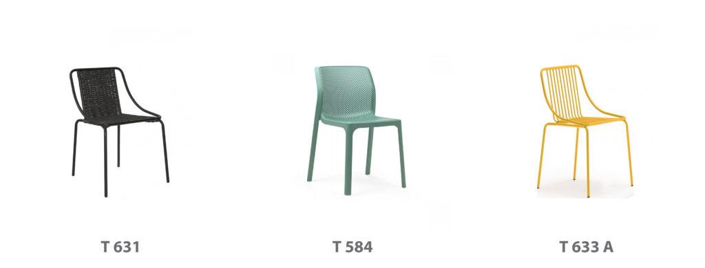 scaune terasa si bar horeca