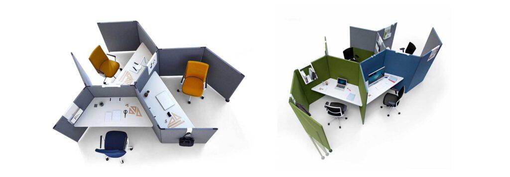 Chairry birou modular modern