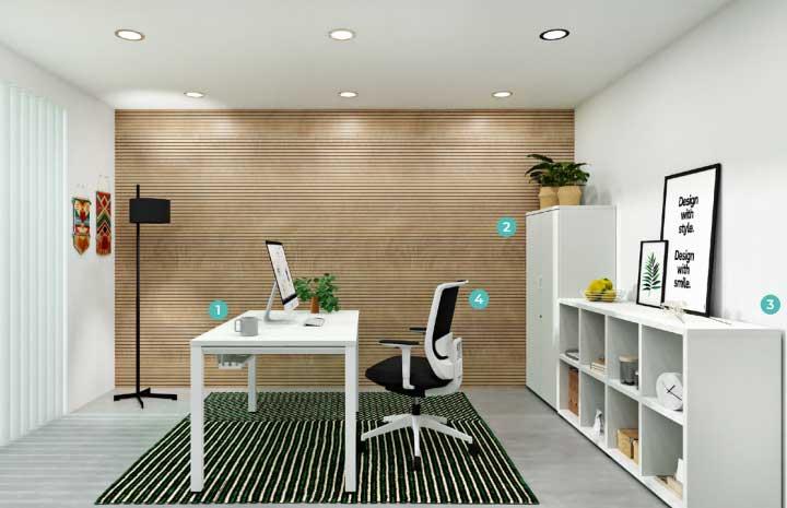 Chairry amenajare birou modern stil modern