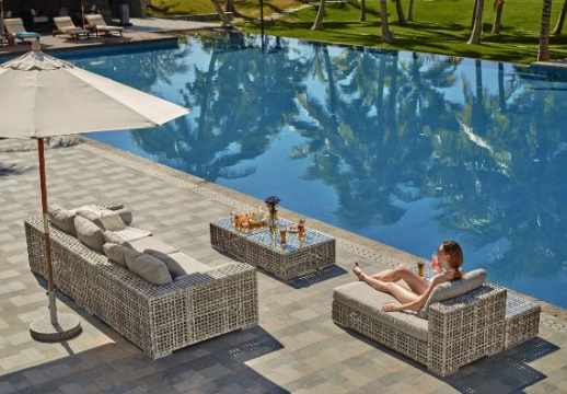 Set lounge pentru piscina
